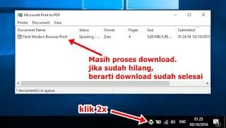 proses print pdf file