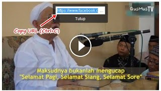 menyimpan video facebook