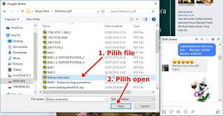 Cara mudah Mengirim File lewat Facebook