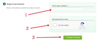 membuat contact form di blog