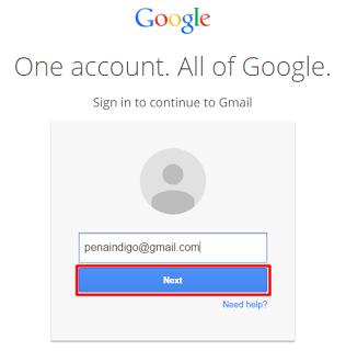 cara masuk akun email gmail