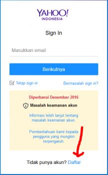 cara membuat akun yahoo mail terbaru