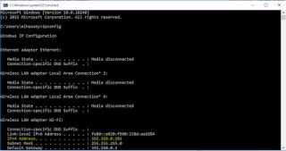 Cara Melihat IP Address Komputer dengan cmd