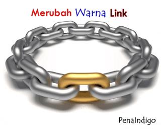 cara mengubah warna link di blog
