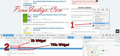 Cara Membuat Sidebar Melayang di Blog