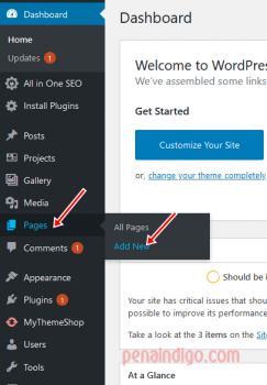 memasang privacy policy di blog wordpress
