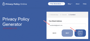 privacy policy blog dan website adsense