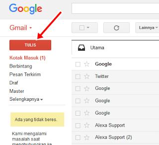 Cara Kirim Email Lewat Gmail