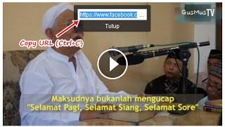 menyimpan video facebook