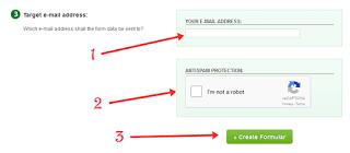 Jika anda ingin menciptakan form kontak ibarat pada blog ini Cara Membuat Contact Us Pada Blog