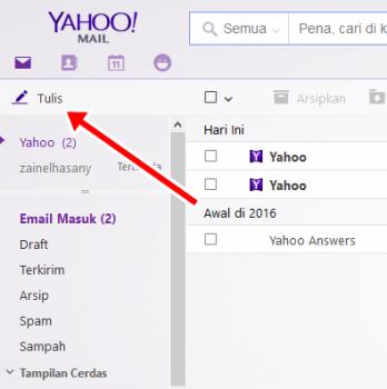 Cara Mengirim Email dari Yahoo ke Yahoo