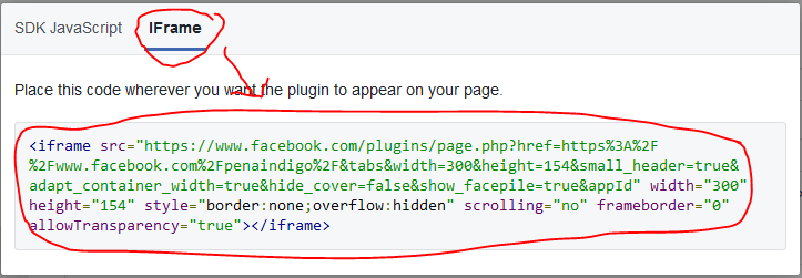 memasang fanspage facebook di blog