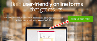 cara membuat contact form keren di blog