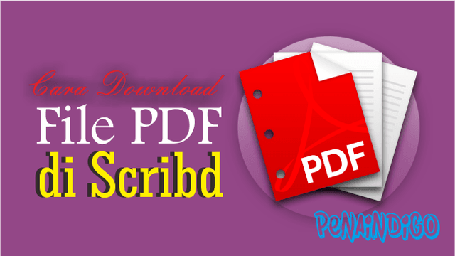 Cara Download File PDF di Scribd