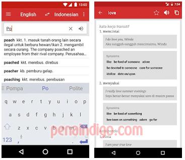 aplikasi terjemah indonesia inggris