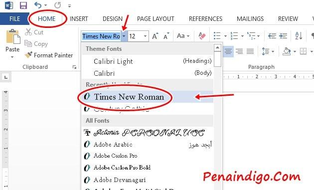 format penulisan makalah yang baik dan benar