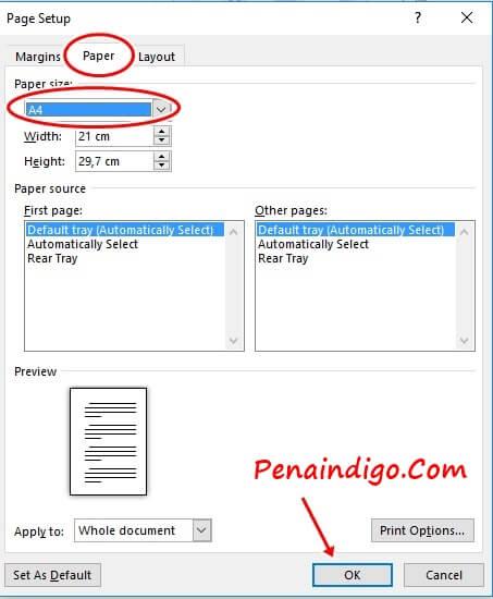 format penulisan makalah yang baik