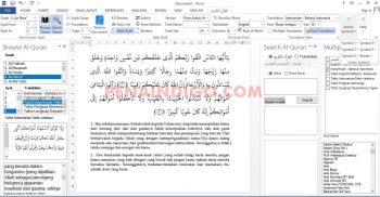 cara menulis ayat alquran di ms word dengan mudah dan cepat