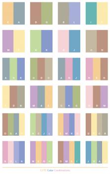 warna kombinasi yang simple