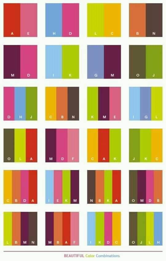 Perpaduan Warna Yang Indah