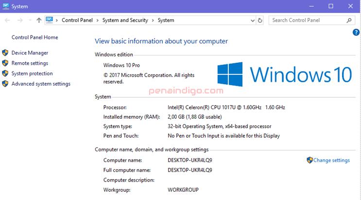 cara cek spesifikasi laptop dan komputer 1
