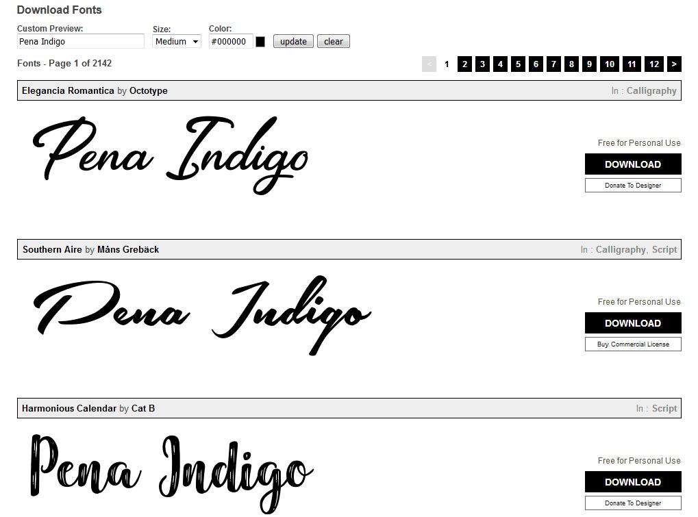 Website Tempat Download Font Terbaik Gratis 1