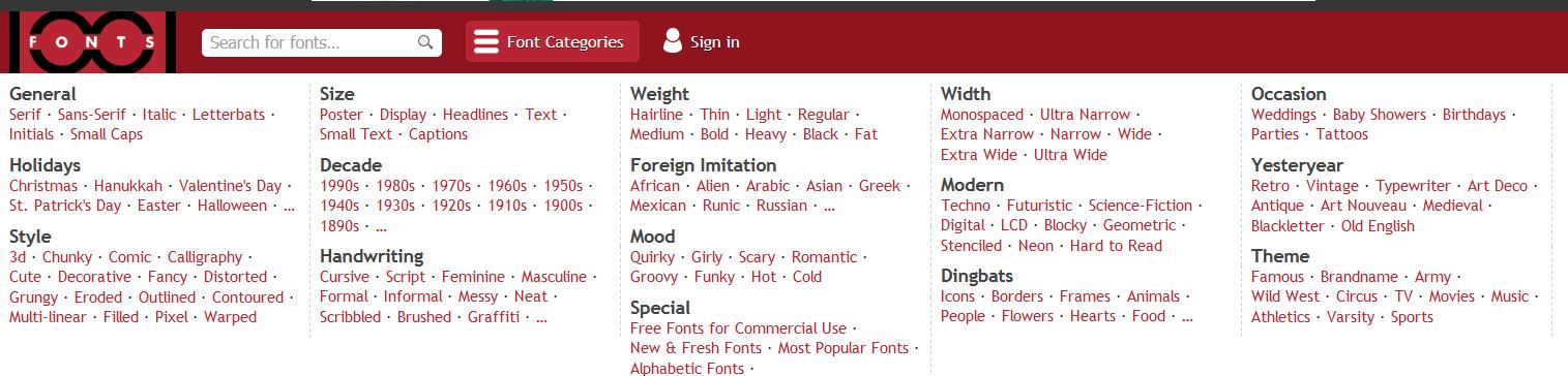 Website Tempat Download Font Terbaik Gratis 2