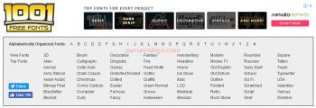 Website Tempat Download Font Terbaik Gratis