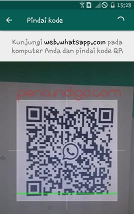 membuka whatsapp di komputer
