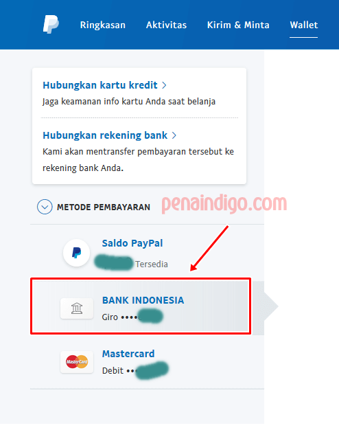 menghubungkan rekening bank lokal ke paypal