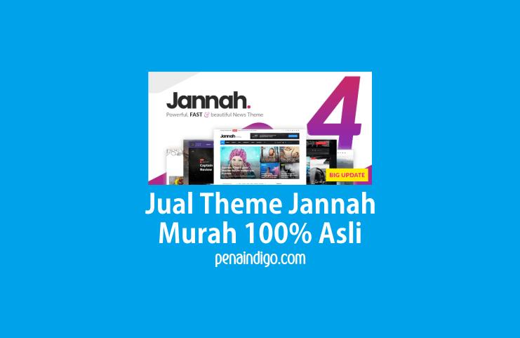 Jual Theme Jannah News Paper Magazine