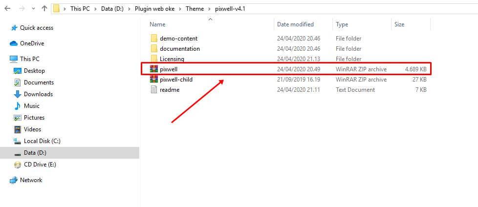 cara instal theme wordpress melalui dasbor