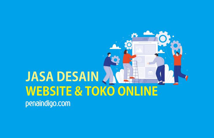 jasa desain website dan toko online